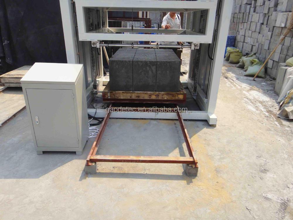 Operating convenient foam concrete mobile plant for making for Foam concrete blocks