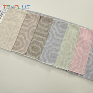 new nesign flocked cheap window curtain fabrics in Italy