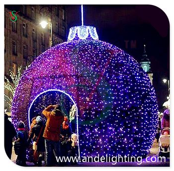 Giant outdoor christmas balls lights buy large outdoor christmas giant outdoor christmas balls lights aloadofball Image collections