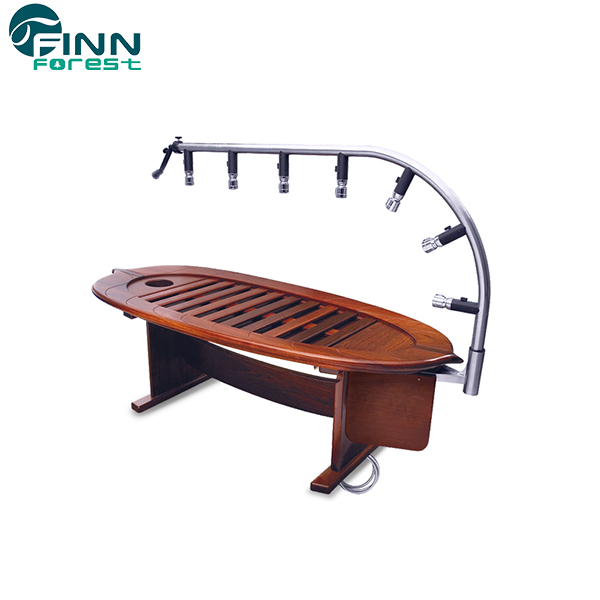 Wooden Vicky Hydraulic Massage SPA Bed