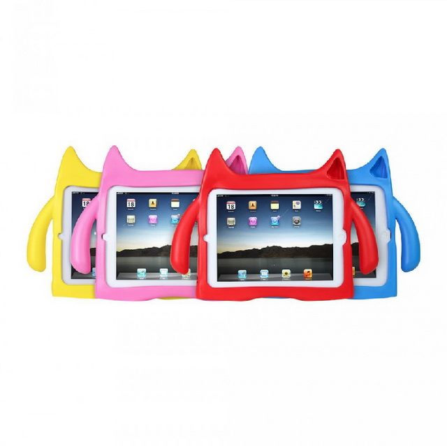 iPadding Kids Friendly Protective Safe Eva Foam Shock Proof Stand Case Cover for <strong>iPad</strong> 4/3/2,