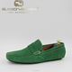 Thailand Hot Colors! Green moccasin Classic Fashion leather suede shoes low price high quality mens casual shoes moccasins