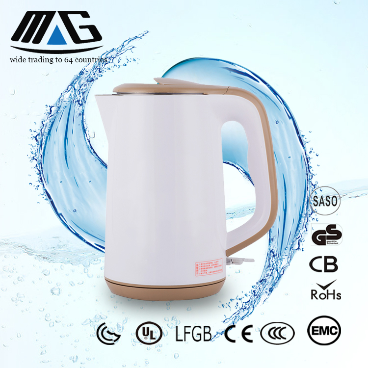 home appliance factory supplier 2.0L new pp plastic electric kettle