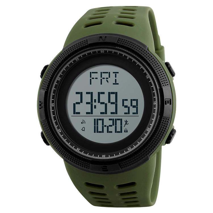 Skmei <strong>Hot</strong> Selling Fitness Health Waterproof Outdoor Mens 3D Pedometer Watch