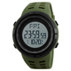 Skmei Hot Selling Fitness Health Waterproof Outdoor Mens 3D Pedometer Watch