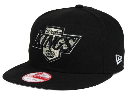 New Era NHL Los Angeles Kings Old School Logo Black Snapback Cap 9Fifty  NewEra 27f29f800ff9