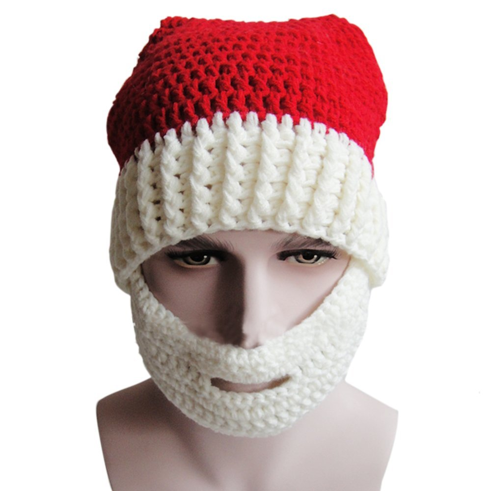 9b1fa1e184b Bobble Beard Crochet Hat Pattern Easy Video Instructions