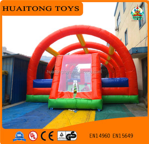 Customized PVC Material Inflatable party tent House Air inflatable hard shell roof top camping tent