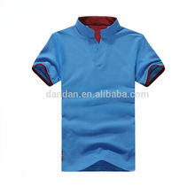 New design mens custom 100%cotton two colors polo t shirts