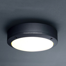 Outdoor IP65 water proof Aluminum Die cast Round Led panel Ceiling Light for Balcony Bathroom