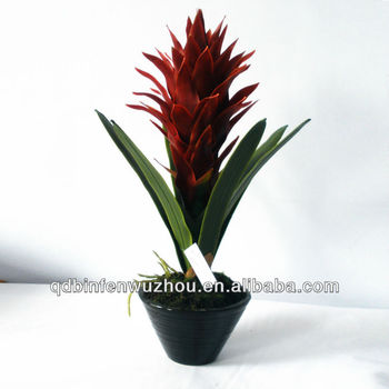 artificial potted tropical flowers plants,artificial silk tropical