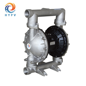 "Air Operated 2"" High Temperature Stainless Steel 306/314 Diaphragm Pneumatic Waste Sludge Oil Pump"