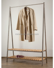 classical design home furniture functional heated clothes hangers with shoe rack for best price