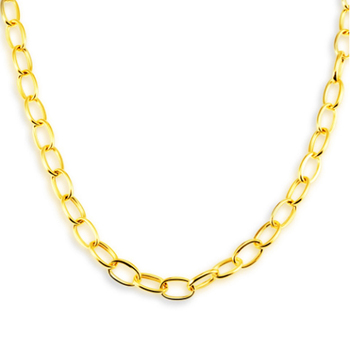 miami link yellow chain cuban mens mm inches gold chains