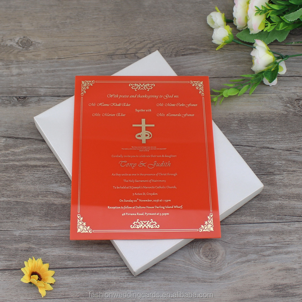 Frosted Acrylic Invitation, Frosted Acrylic Invitation Suppliers and ...