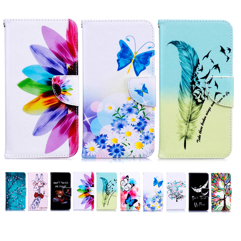 Colorful Magnetic Flip Wallet Leather Painted Cases For Google PIXEL Cover With Stand Card Slot