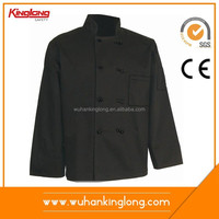 Hotel chef uniform/High Quality Chef Uniform/Restaurant Uniforms+custom make coat wholesale coat