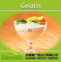 Good quality food grade pig skin Gelatin