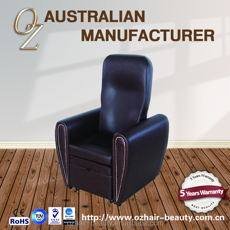 Reclining Foot Massage Chair Pedicure Foot Spa Massage Chair Toe Treatment Chair