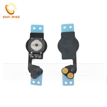 100% guarantee for iphone 5 home button flex cable 5g