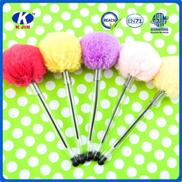2016 Factory cheap price new model color toy cap ball pen in high quality