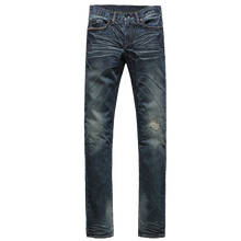 <span class=keywords><strong>Jeans</strong></span> denim di <span class=keywords><strong>cotone</strong></span> con baffi uomini
