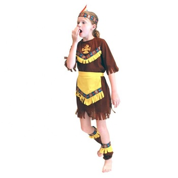 Traditional Indian wear role masquerade party kids wholesale costume clothing