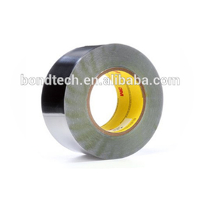 Dark Silver 3M 420 Lead Foil Tape for Masking applications in electroplating