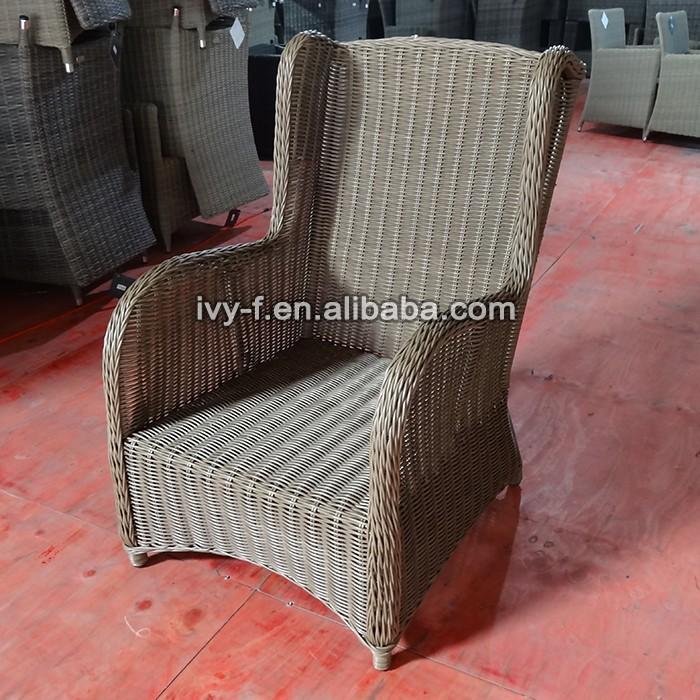 mobili da giardino schienale alto sedie in rattan vimini/turno ... - Mobili Da Giardino In Rattan Vita Moderna