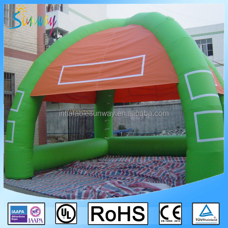 6*6*4.3 meters good design outdoor inflatable bar tent, inflatable serving bar