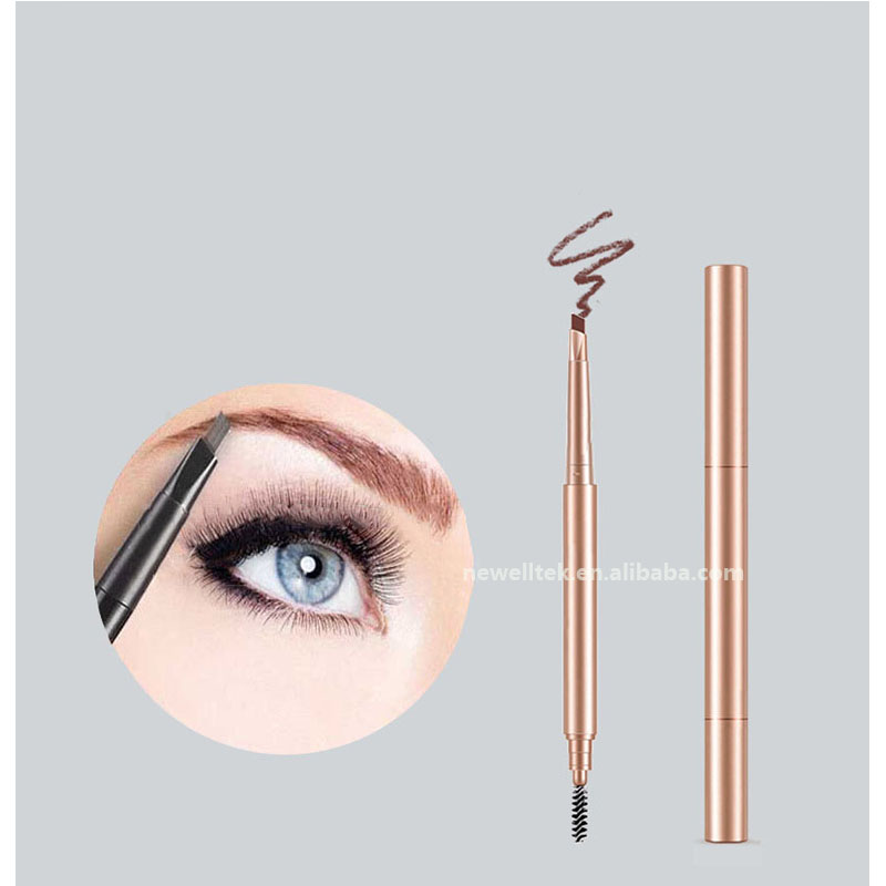 Imported ink eyebrow pen private label waterproof eyebrow pencil makeup