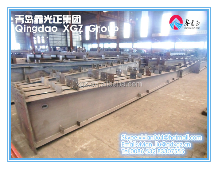 XGZ Steel Structure Building Steel Stanchion