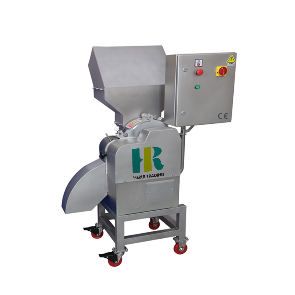 Industrial fruit and vegetable dicing machine / carrot dicer / onion cutter