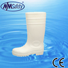 NMSAFETY White pvc rain boots PVC water mining boot