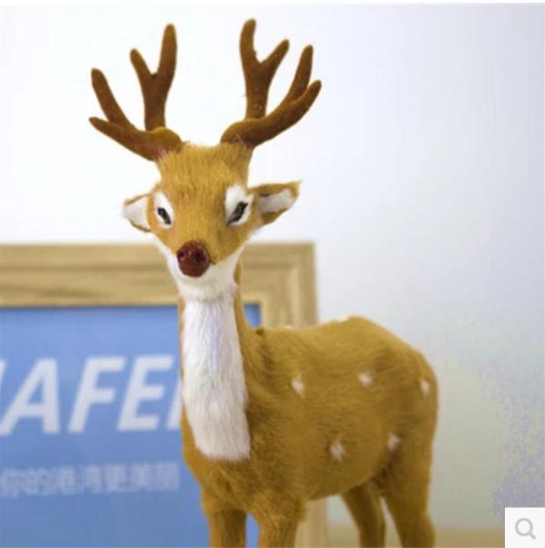 Large Outdoor Costume Plastic Christmas Reindeer Decorations
