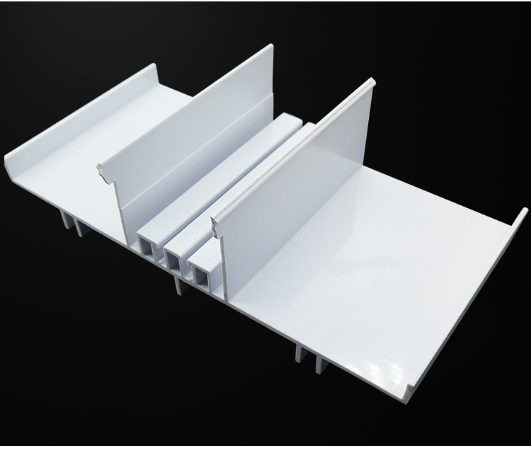 PVC profile for construction and building Extruded plastic profiles