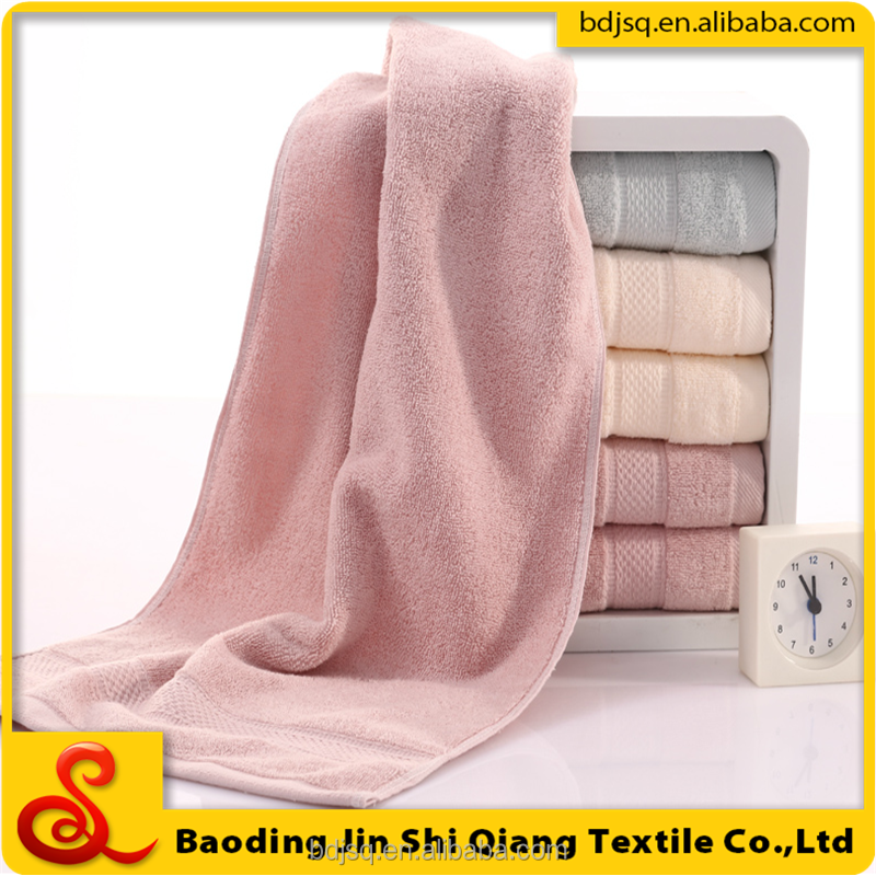 wholesale cheap sirospun 100% cotton bath towel hand towel wash cloth towel set