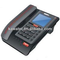 Big screen office cordless landline phone basic