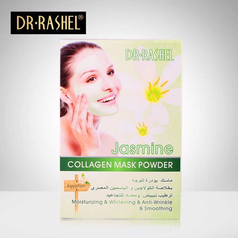 DR.RASHEL Moisturizing Whitening Anti Wrinkle Jasmine Collagen Face Mask Powder