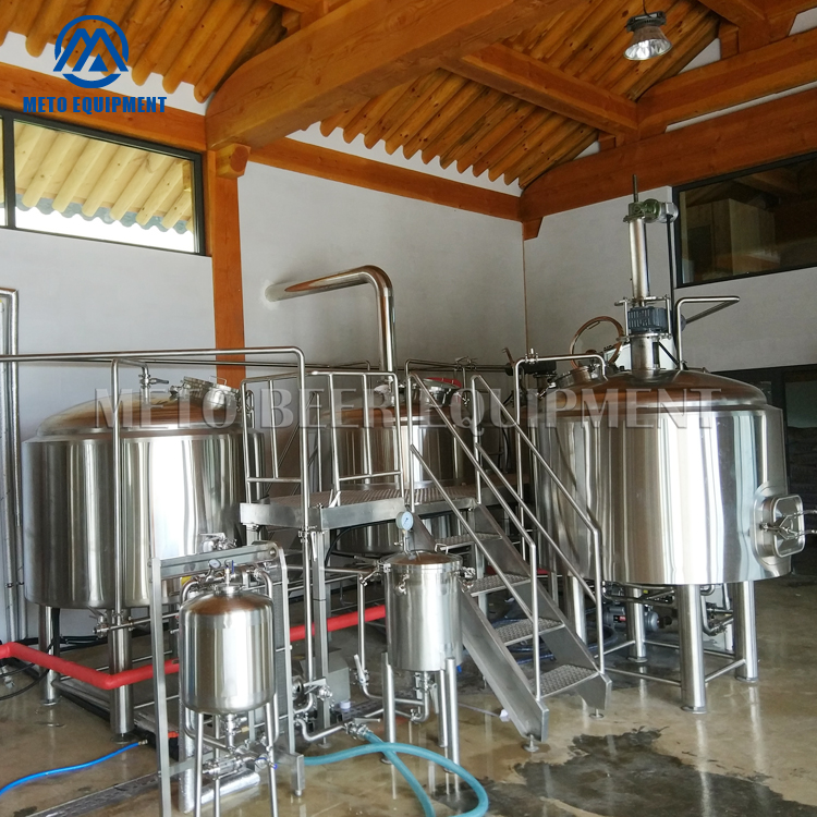 METO Fermenting Equipment and 3 years warranty Beer Brewery Brewhouse 500L