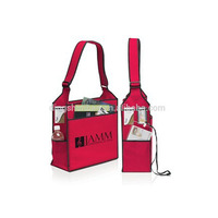 Screen print large ultimate conference shoulder bag