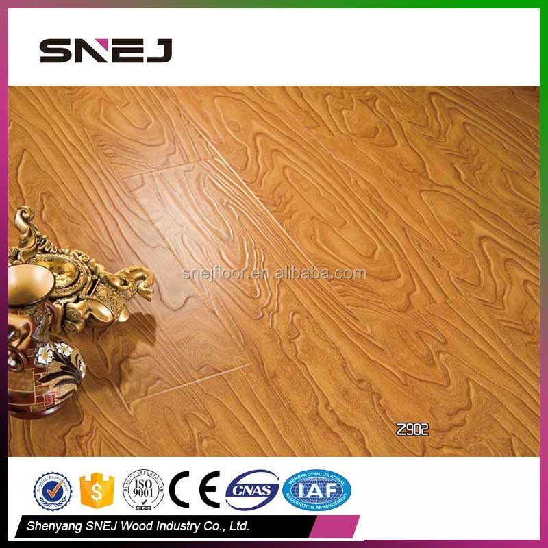 Z902 indoor composite end grain wood quick step laminate flooring 2017 new model