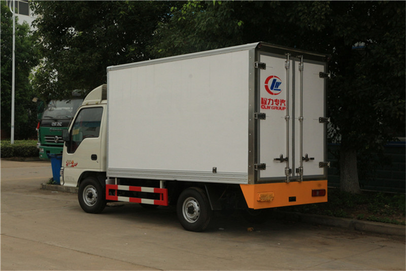 2020 Hottest Jmc Refrigerator Van Truck For Meat And Fish