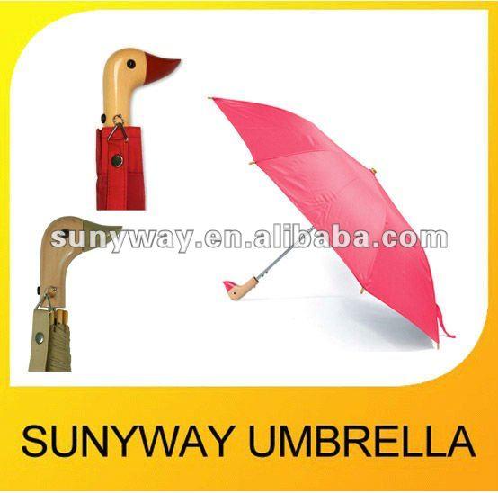 cute umbrella with wooden duck handle buy cute umbrella cute