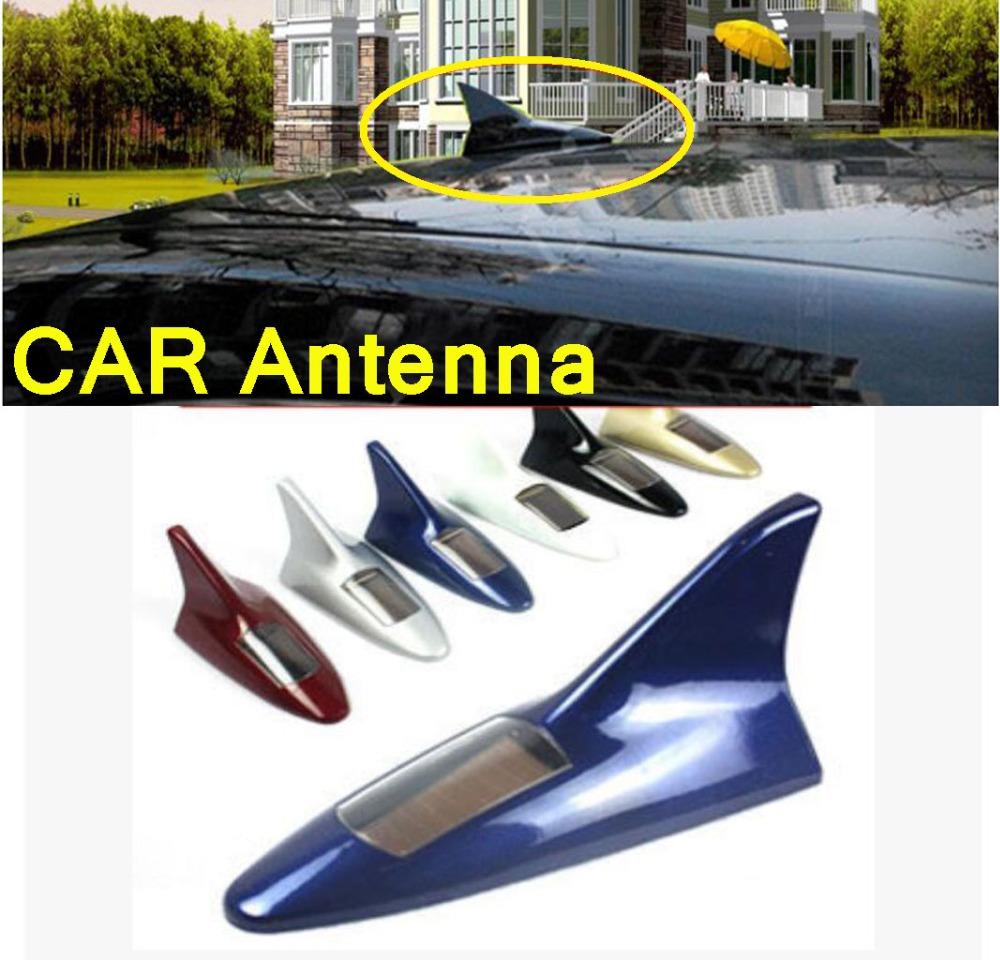 Автомобиль из светодиодов антенны плавник акулы антенны мигающий свет поддельные солнечной energy1pcs / setoptional 7 цвет! Шок +! Супер хорошо! Citroen C5 C2 C4
