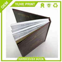 Top book printing service reasonable price high quality custom design 1C/1C hardcover children book printing