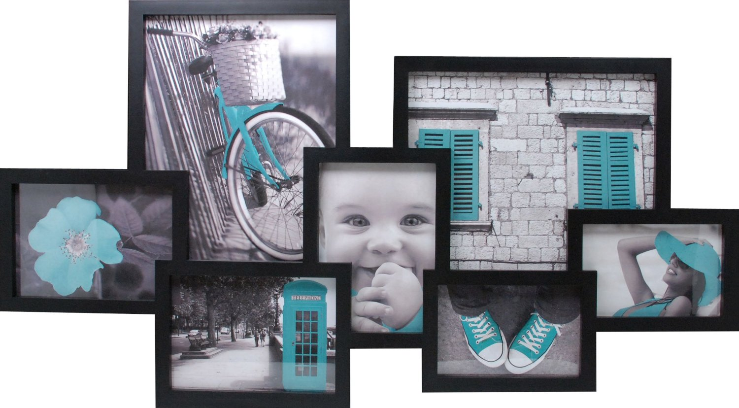 Get Quotations Kiera Grace Lindo Collage Picture Frame With Plexigl 16 By 29 Inch 7