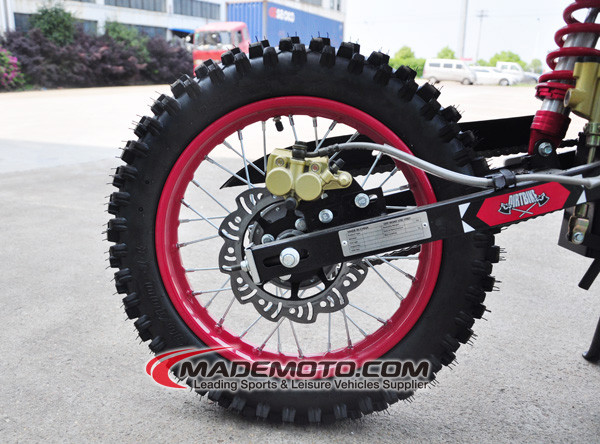 Motorcycle Pit Bike Yellow 49cc Mini Dirt Bike Colored Dirt Bike