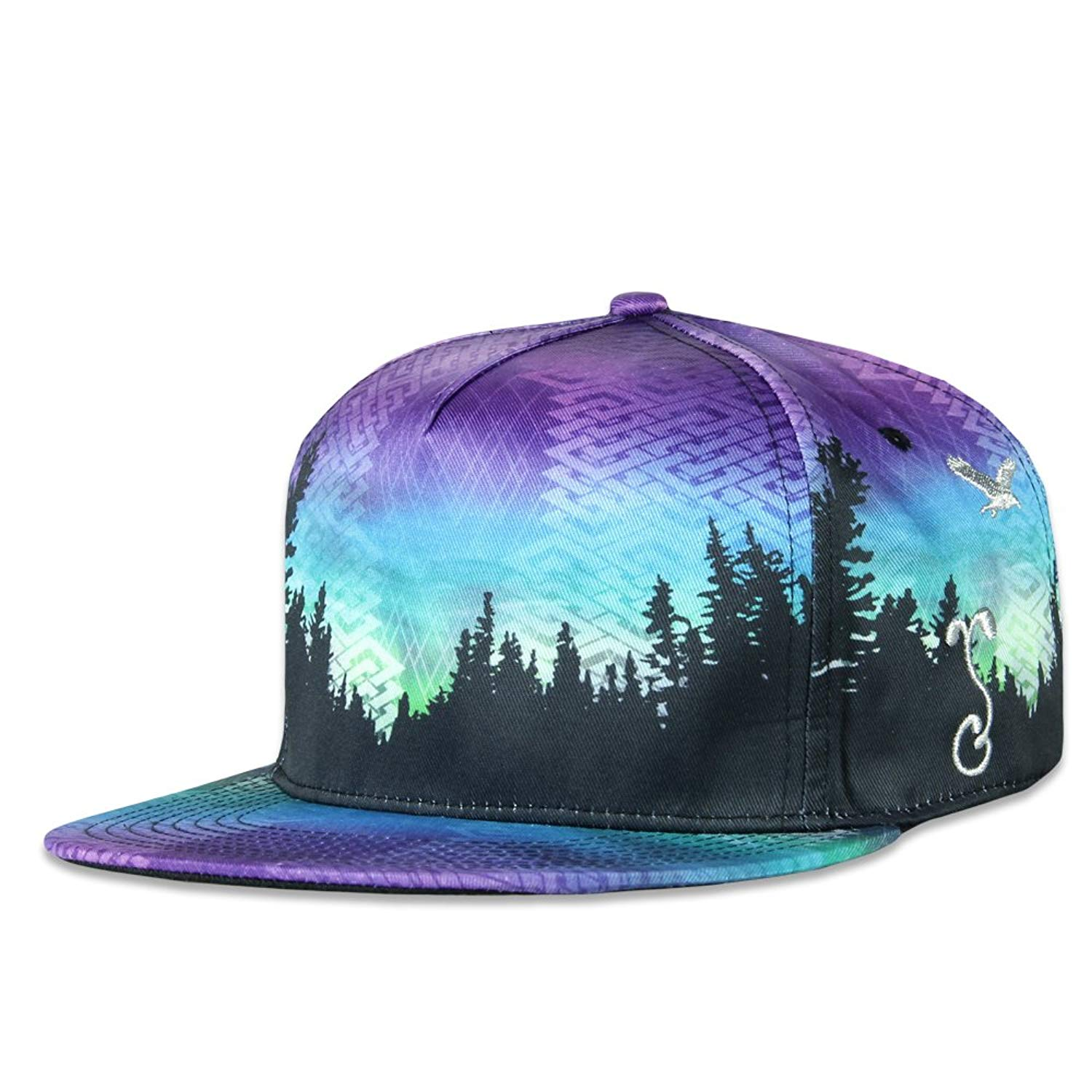 2eabe32b836 Get Quotations · Grassroots California Camproots Purple V2 Snapback
