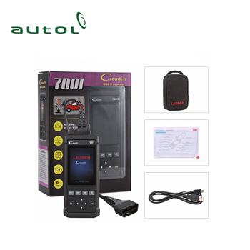 New Launch Cr7001f Code Reader Auto Diagnostic Tool With Abs  Bleeding,Battery Management System Reset Diagnostic Adapter - Buy Auto  Diagnostic